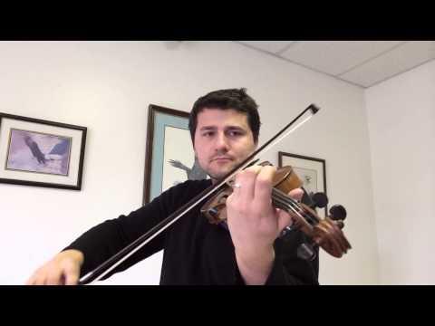 Harmonic Shift Exercise - Technique - Suzuki Violin Book 2