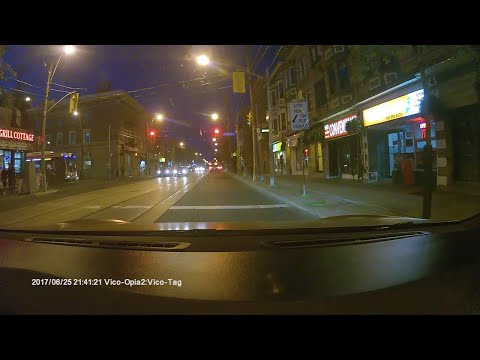 Two Cars Red Light Camera