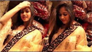 Jannat Zubair Looking BEAUTIFUL In LEHENGA At Her FAVOURITE Shopping Store