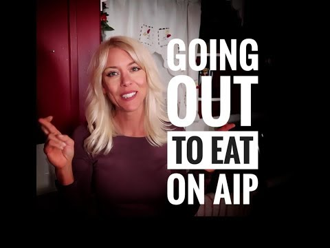 Going out to eat on the AIP diet!