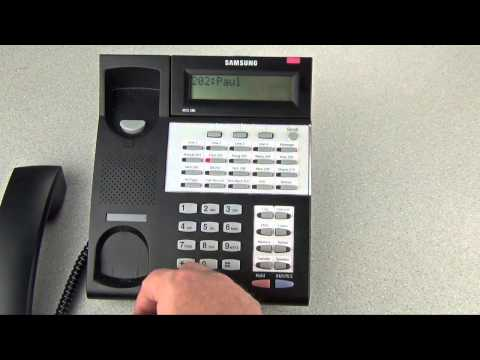 Quick Start to Your Samsung iDCS Telephone
