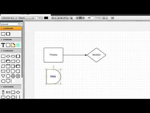 Add shapes - Lucidchart