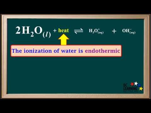 BCLN - Effect of Temperature on pH, pOH, and pKw - Chemistry