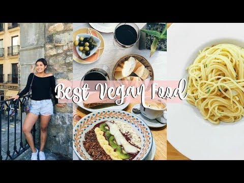 BEST VEGAN FOOD - Vegan Eating In Spain | ItsMandarin