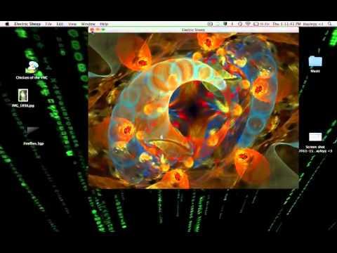 How To Set Your ScreenSaver As Your Desktop (Mac)