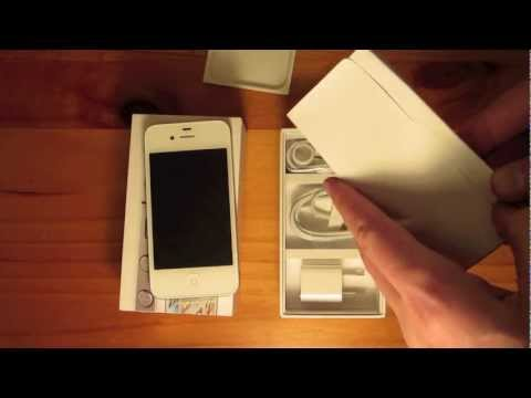 Unboxing: iPhone 4S