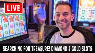 🔴 LIVE - Searching For Treasure 💎 #WINNING Slots At San Manuel