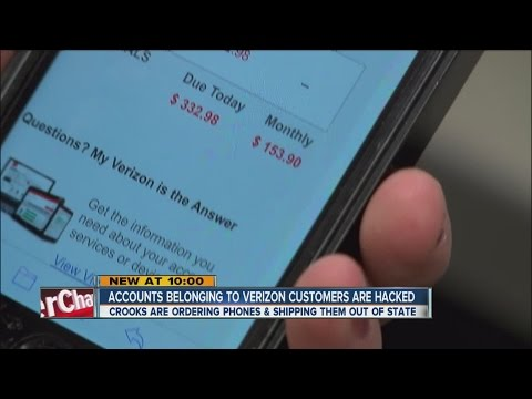 Accounts belonging to Verizon customers hacked