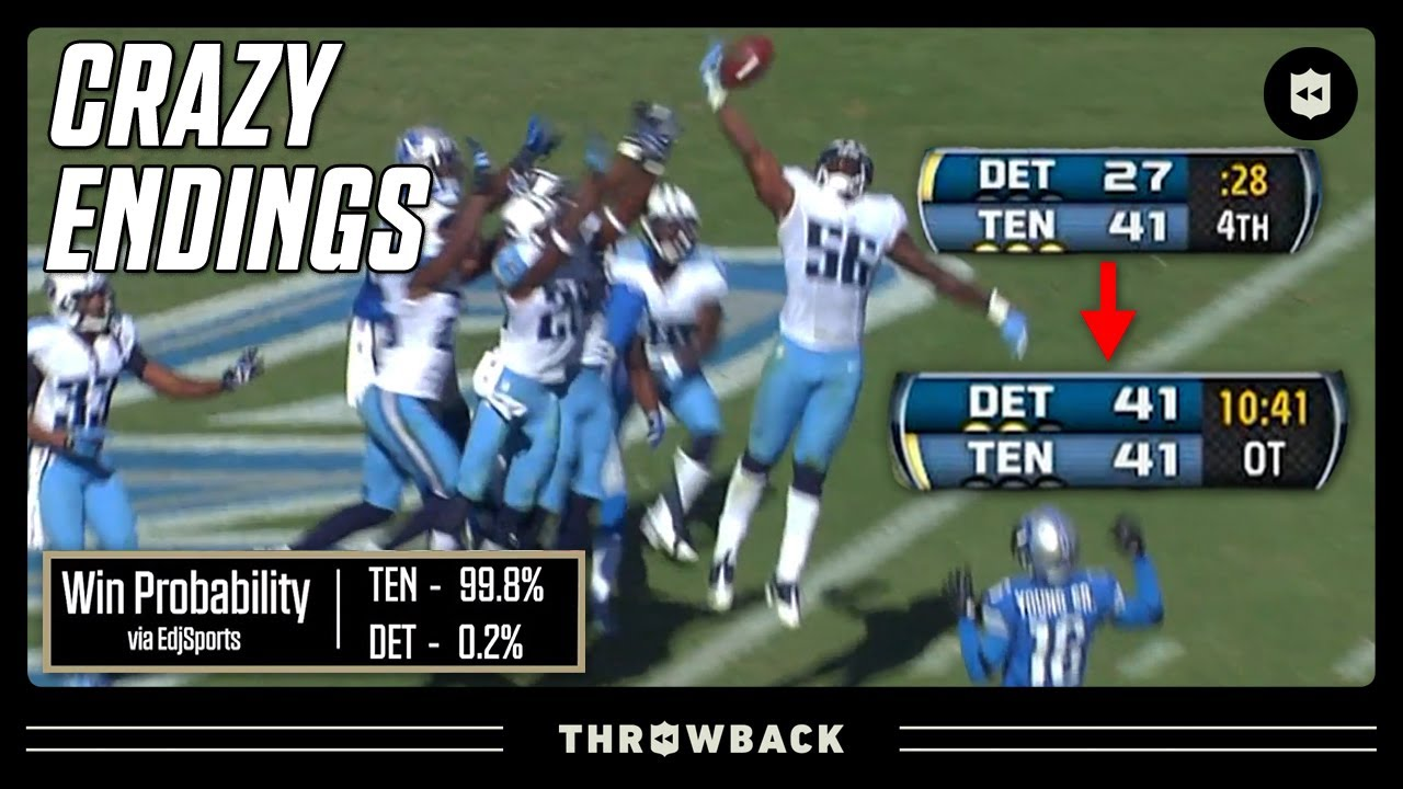 CRAZIEST Game You've Never Seen! (Lions vs Titans 2012, Week 3)