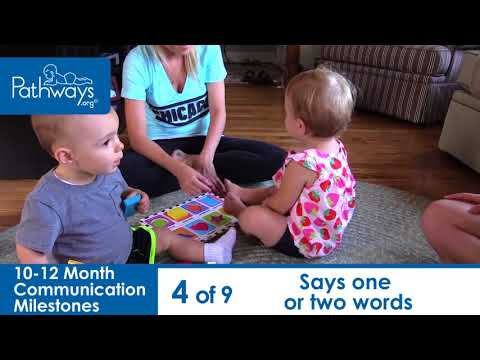 10-12 Month Baby Communication Milestones to Look For
