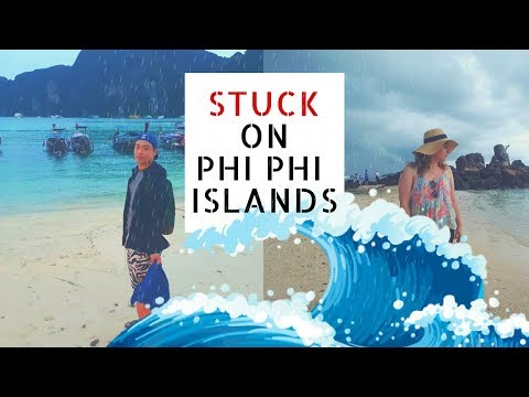 Travel Thailand: PHI PHI ISLANDS TOUR DISASTER! Stuck on the Island!