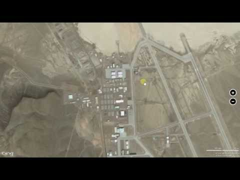 How to find Area51 on google maps