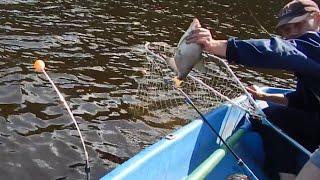 ловля рыбы с лодки в апреле