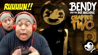 WHY THE F#%K DOES THIS GAME MAKE ME JUMP SO MUCH!? [BENDY AND THE INK MACHINE] [CHAPTER 2]