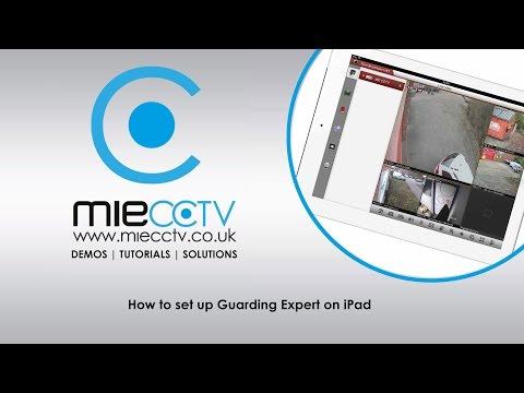 How to setup Guarding Expert / NVMS7000 / IVMS-4500 on iPad