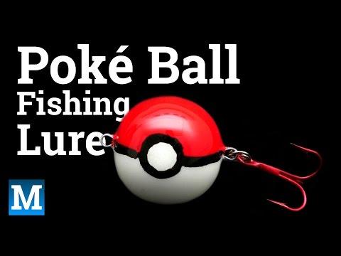 How to Make a Poké Ball Fishing Lure