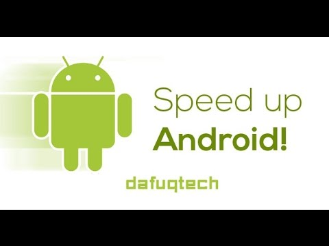 SPEED UP ANY ANDROID 2016