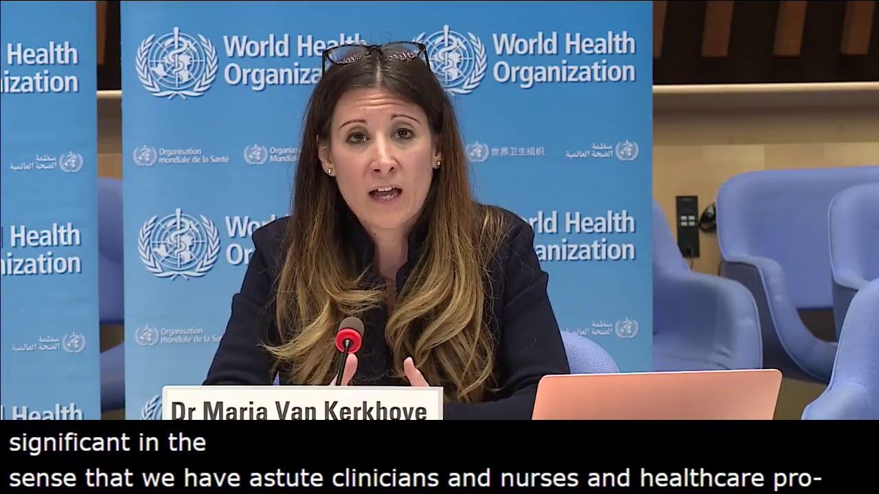 Live from WHO Headquarters - COVID-19 daily press briefing 01 May 2020