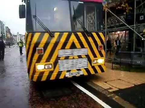 Very rare metro engineering bus in belfast