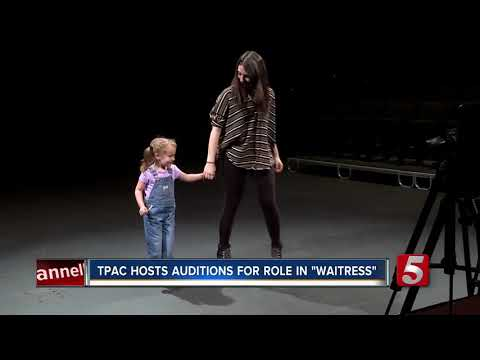 Local Children Audition For Broadway Musical At TPAC