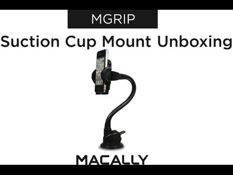 Macally's MGRIP: Suction Cup Mount with a Long Adjustable Neck
