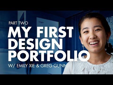 Emily's First Graphic Design Portfolio Review | Part 2