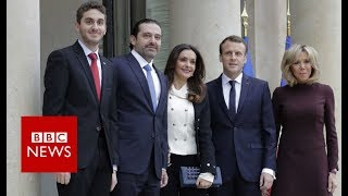 Lebanon PM, Saad Al-Hariri in France for crisis talks - BBC News