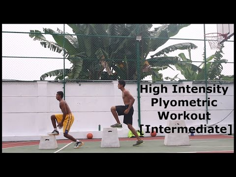 HIGH INTENSITY Plyometric Workout [Intermediate]