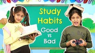 STUDY HABITS - Good Kid vs Bad Kid   #Roleplay #Fun #Sketch #MoralValues #MyMissAnand