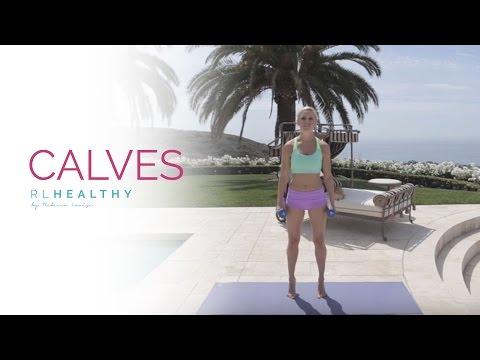 Calves Workout Rebecca Louise