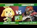 Smash Ultimate Tournament - Vermanubis (Ganondorf) Vs. Pokepen (Isabelle) DPOTG18 SSBU Pools