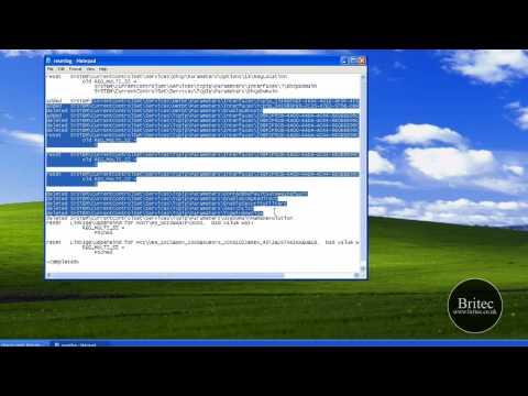 Repair / Reset Winsock / Internet Protocol TCP IP Settings by Britec