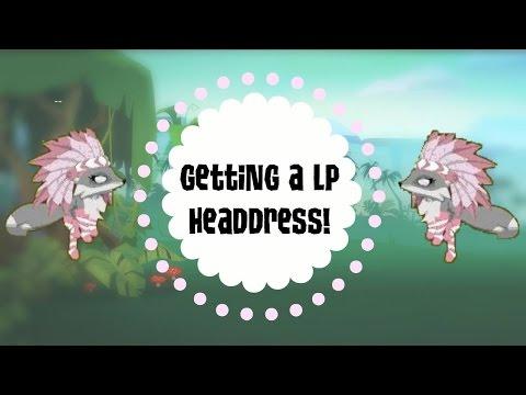 Getting a Light Pink Headdress, Ft. Pinktiki | Animal jam