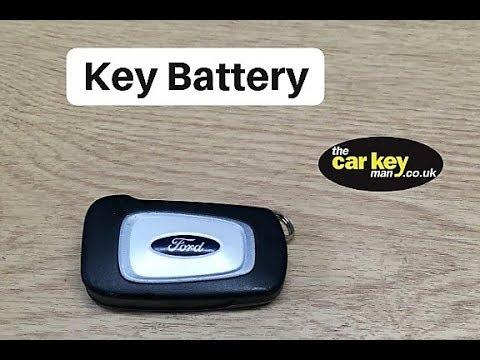 2015 Ford Ka key battery change HOW TO