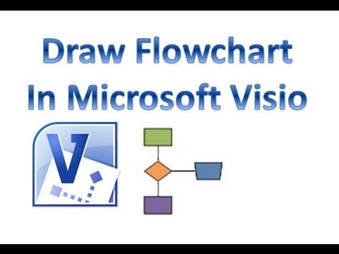 Microsoft Visio - How to draw flowchart
