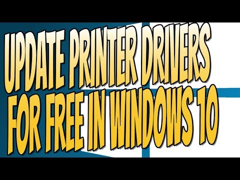 How To Update and Install The Latest Drivers For Your Printer Tutorial