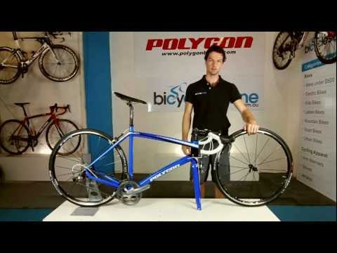 How to install the front wheel on a road bike