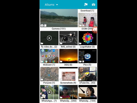 How to remove auto backup photos from samsung Phone