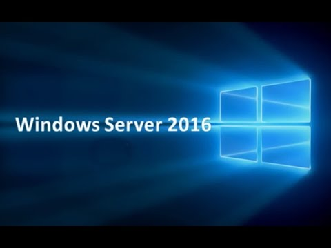 Installation of Server 2016 and New Features