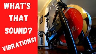Sunny Health & Fitness spin bike noisy flywheel fixed!