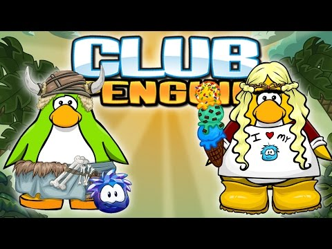 Club Penguin : Time Traveling With Sqaishey!