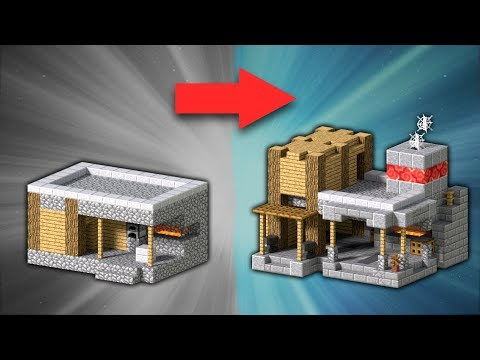 How to Transform a Village Blacksmith | Minecraft