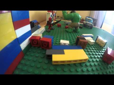 LEGO Deadpool VS  Hulk