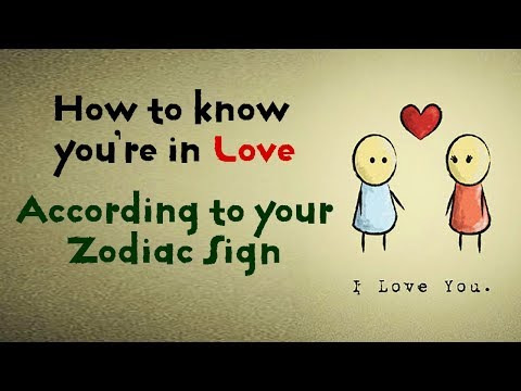 How to Know You're in Love, According to Your Zodiac Sign ❤