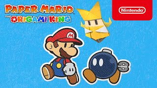 Entdeckt Paper Mario: The Origami King! (Nintendo Switch)