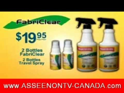 FabriClear As Seen on TV Canada - www.asseenontv-canada.com