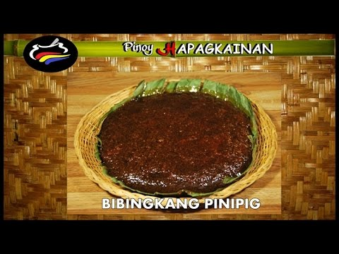 BIBINGKANG PINIPIG Pinoy Hapagkainan