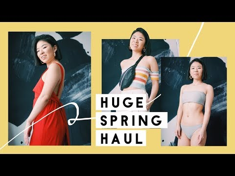 HUGE Spring/Summer 2018 Try On Haul - Clothing & Shoes
