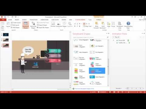 Cara Mudah Membuat Video dengan Powerpoint Storyboard