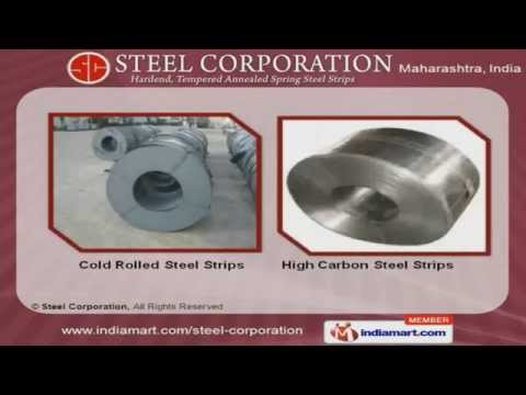 Hardened And Tempered Spring Steel Strips by Steel Corporation, Mumbai